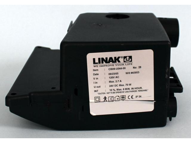 Linak CB09 analog  control  module for use in Carroll and Invacare beds
