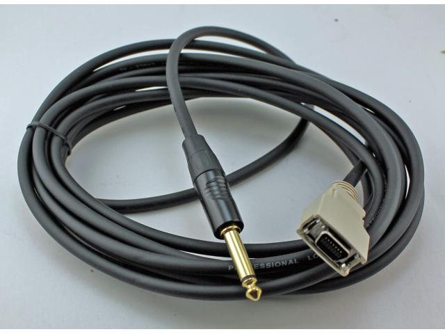 TMC11010   MDR connector to 1/4 inch 15 ft cable