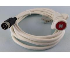 DIN8 sealed  Call Cord (12ft)